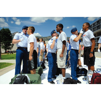 Colorado Springs' Air Force Academy