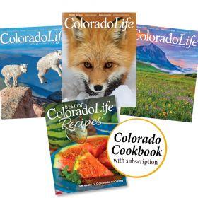 Combo - Colorado Cookbook + 1yr Subscription